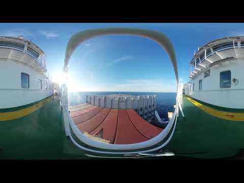 Phonography 360° : Atlantic Star Deck, North Atlantic Ocean (49.677787,-32.687123) - Ambisonic Sound