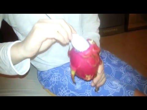 Драгон фрукт - какой он на вкус? Dragon fruit, он же питайя.