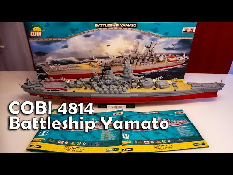 Download Cobi 4814 - Battleship Yamato