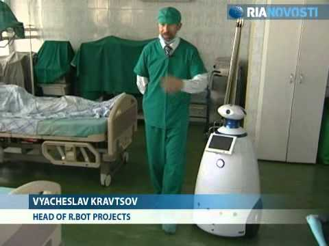 Robots used for virtual medical examinations in Moscow. RIA Novosti 2010.09.15