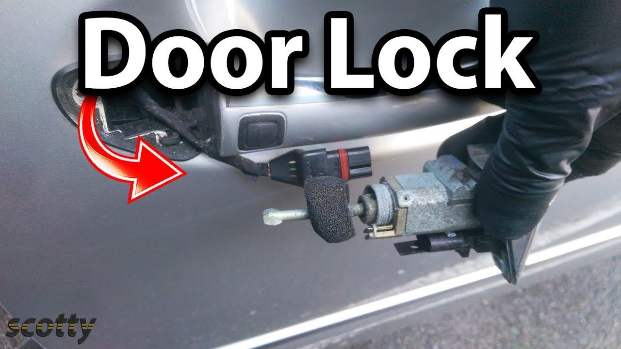 How to Fix a Broken Car Door Lock  YouTube
