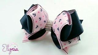 Laço Nadia 🎀 Ribbon Bow 🎀 DIY por Elysia Handmade