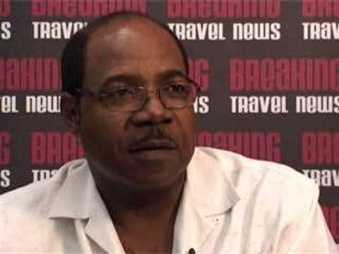 Edmund Bartlett, Minister of Tourism for Jamaica @ CHA 2008