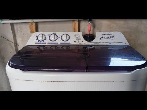 Cara Menggunakan Mesin Cuci SHARP Super Aquamagic ES-T85CR-VK