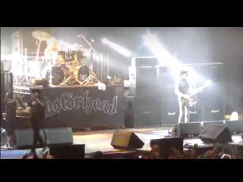 Motorhead's (Lemmy's) last concert before his death, Dec 11 2015 Berlin video released!