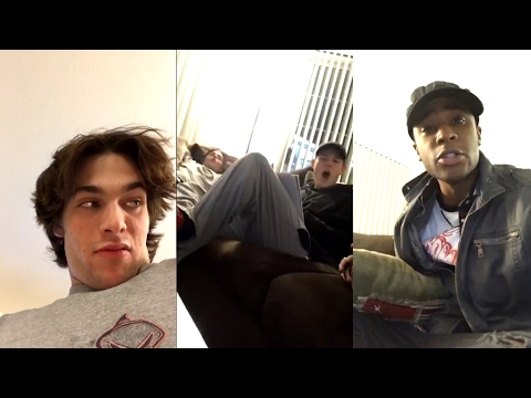 Dylan Sprayberry & Khylin Rhambo  Teen Wolf 6x10 MTV Snapchat Takeover  Funny Videos