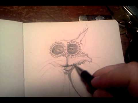 Mitchell Grafton Sketching