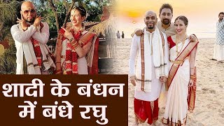 Raghu Ram ties the knot with girlfriend Natalie Di Luccio in an intimate ceremony   Boldsky