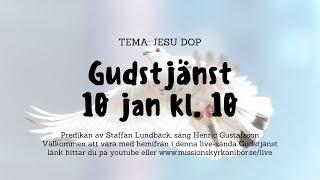 20210110 Gudstjänst i Missionskyrkan i Bor kl. 10