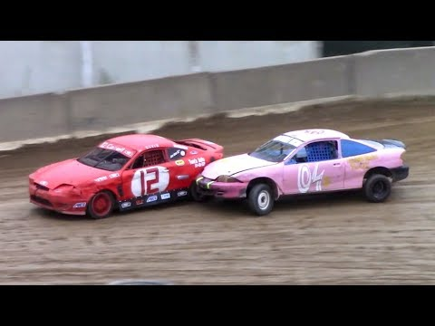 Mini Stock Heat Four | Old Bradford Speedway | 9-8-18