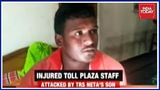 TRS Leader's Drunk Son Stabs Toll Plaza Manager When Asked For Rs 30 Fare