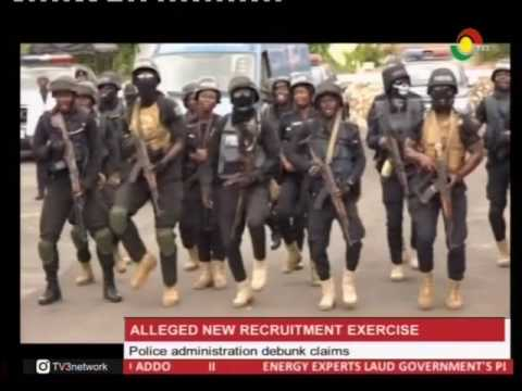 Police admin debunk claims of alleged new recruitment exercise - 25/2/2017