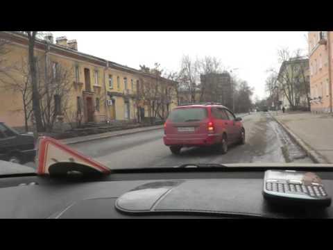 Автонакат - Разбор проезда перекрестков с любознательным водителем.