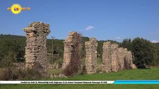Anadolu'da Antik Su Mühendisliği Antik Değirmen Ve Su Kemeri Harabeleri Beşkonak Manavgat 4K UHD