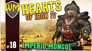 HOI4 Império Mongol #18 - Stamos Expussos - Gameplay PT BR