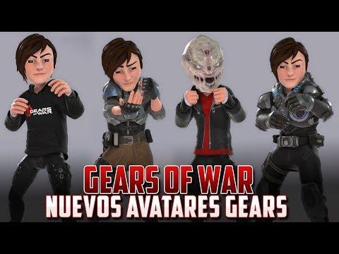 Nuevos Avatares de Gears of War en Xbox One!!