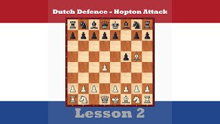 chess openings dutch defence hopton attack 2 1 d4 f5 2 bg5 h6