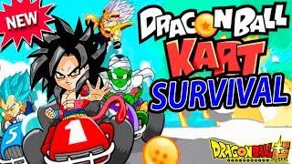 EL JUEGO DRAGON BALL SUPER RACING SURVIVAL   Goku Dragon Ball Kart   ManoloTEVE