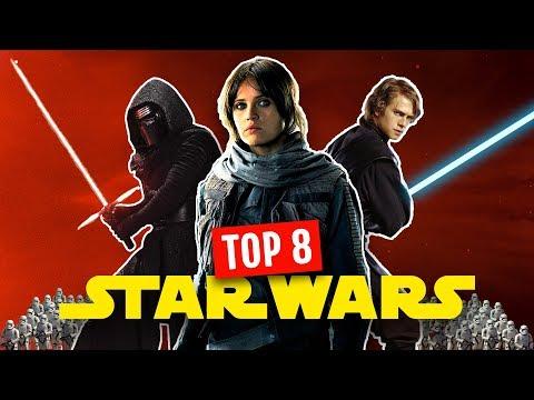 TOP 8 DES FILMS STAR WARS