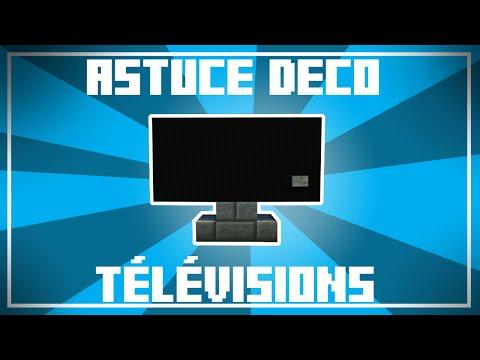 Astuce Déco - 11 Designs De TÉLÉVISIONS Dans Minecraft !