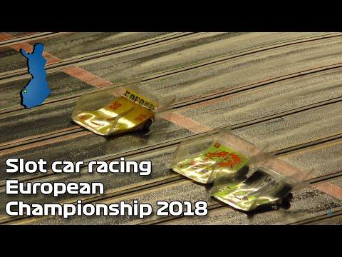 Slot car racing European Championship 2018 [4K]