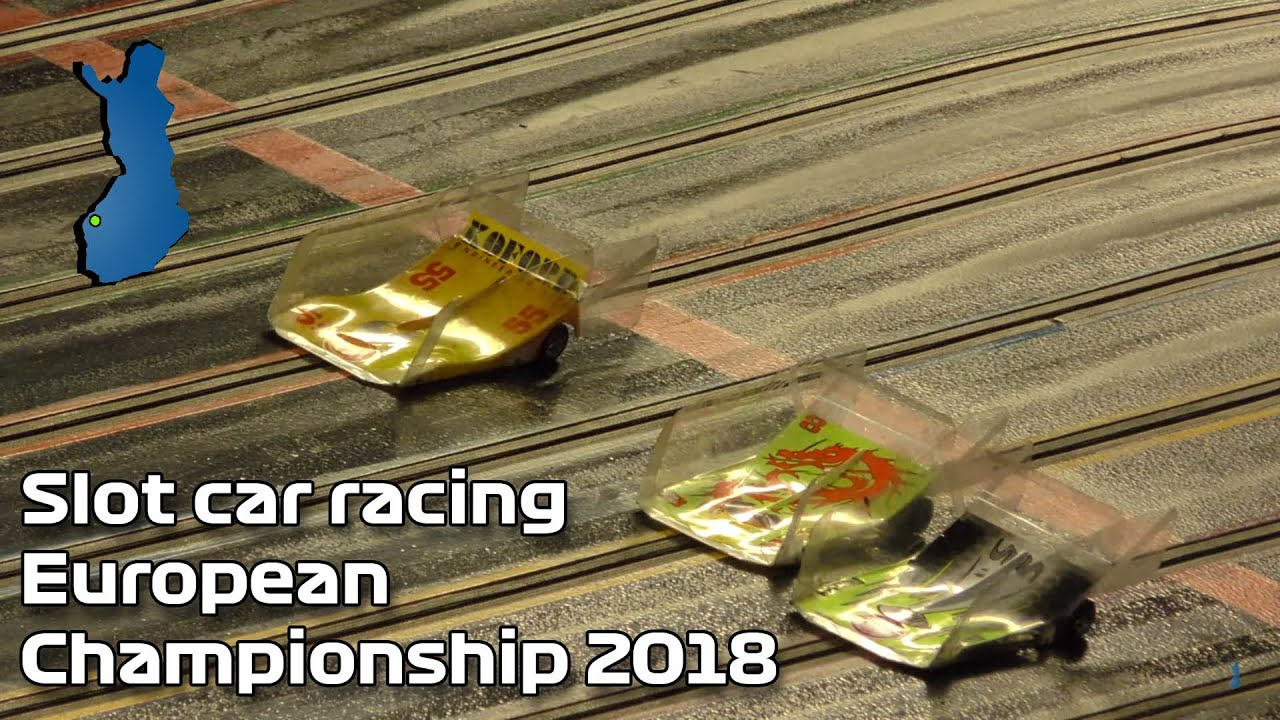 Slot car racing European Championship Finals, Helsinki.Slot car racing European Championship Finals More info:
