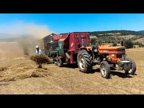 Gezer Patoz'la  fiğ harmanı konuş köyü emet kütahya metin YILDIZ