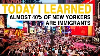 TIL: Almost 40 Percent of New Yorkers Are Immigrants | Today I Learned