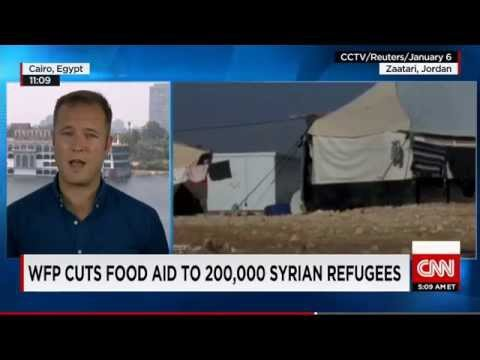 WFP CUTS FOOD AID TO 200,000 SYRIAN REFUGEES