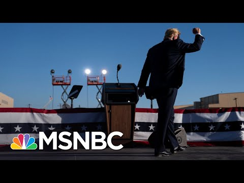 Trump Keeps Breakneck Rally Schedule As U.S. Nears 9,000,000 Covid Cases | The 11th Hour | MSNBC