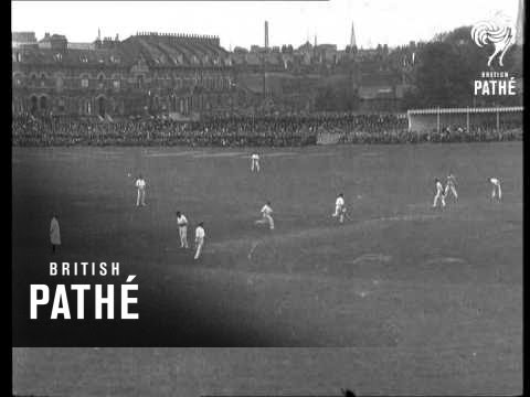 Oval Cricket Ground Used By Army For Training (1914)