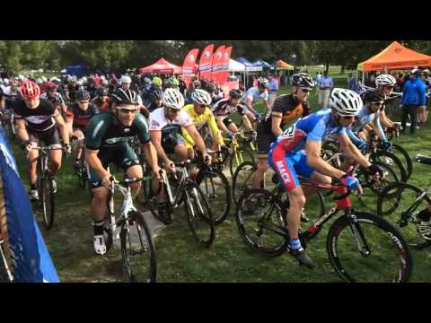 2013 Chicrosscup Begins!  Jackson Park Masters 40+ Start