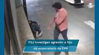 La agresión habría ocurrido en el estacionamiento de la plaza Arcos Bosques, ubicada en Cuajimalpa