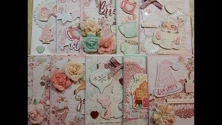 10 Cards 1 Collection | Prima Santa Baby
