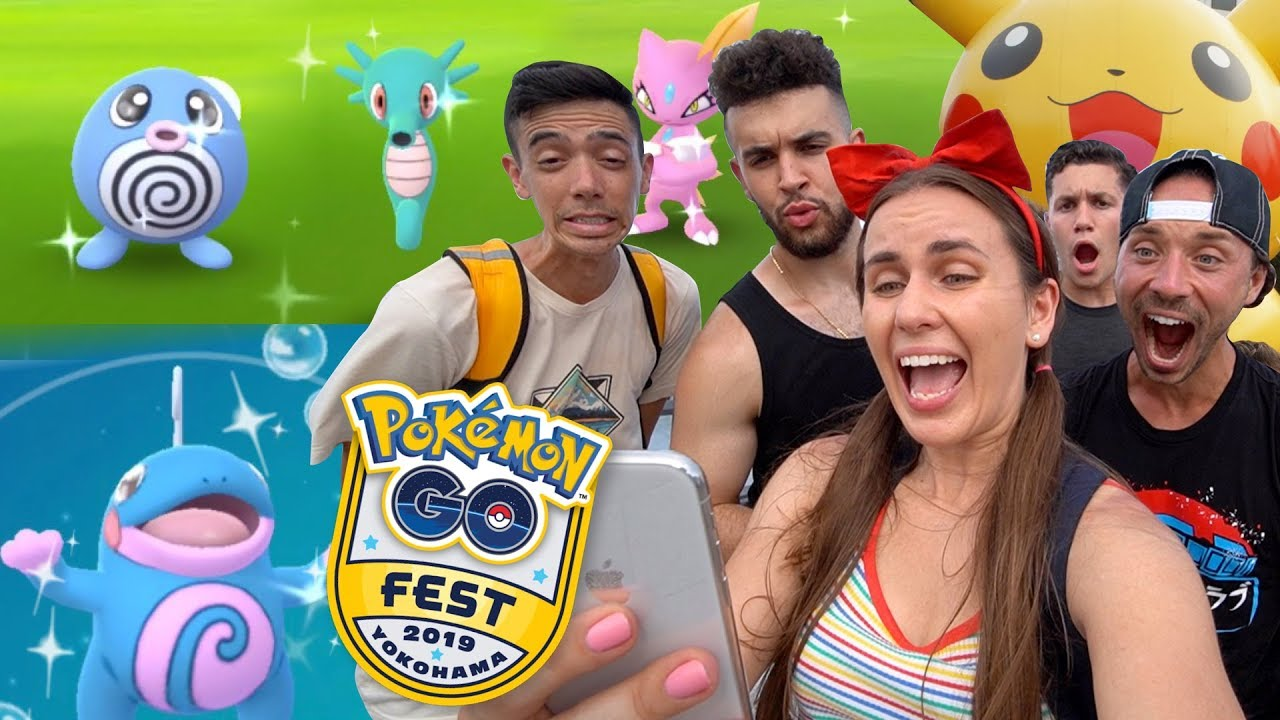 COOLEST NEW SHINY EVOLUTION at Pokémon GO Fest Yokohama, Japan!