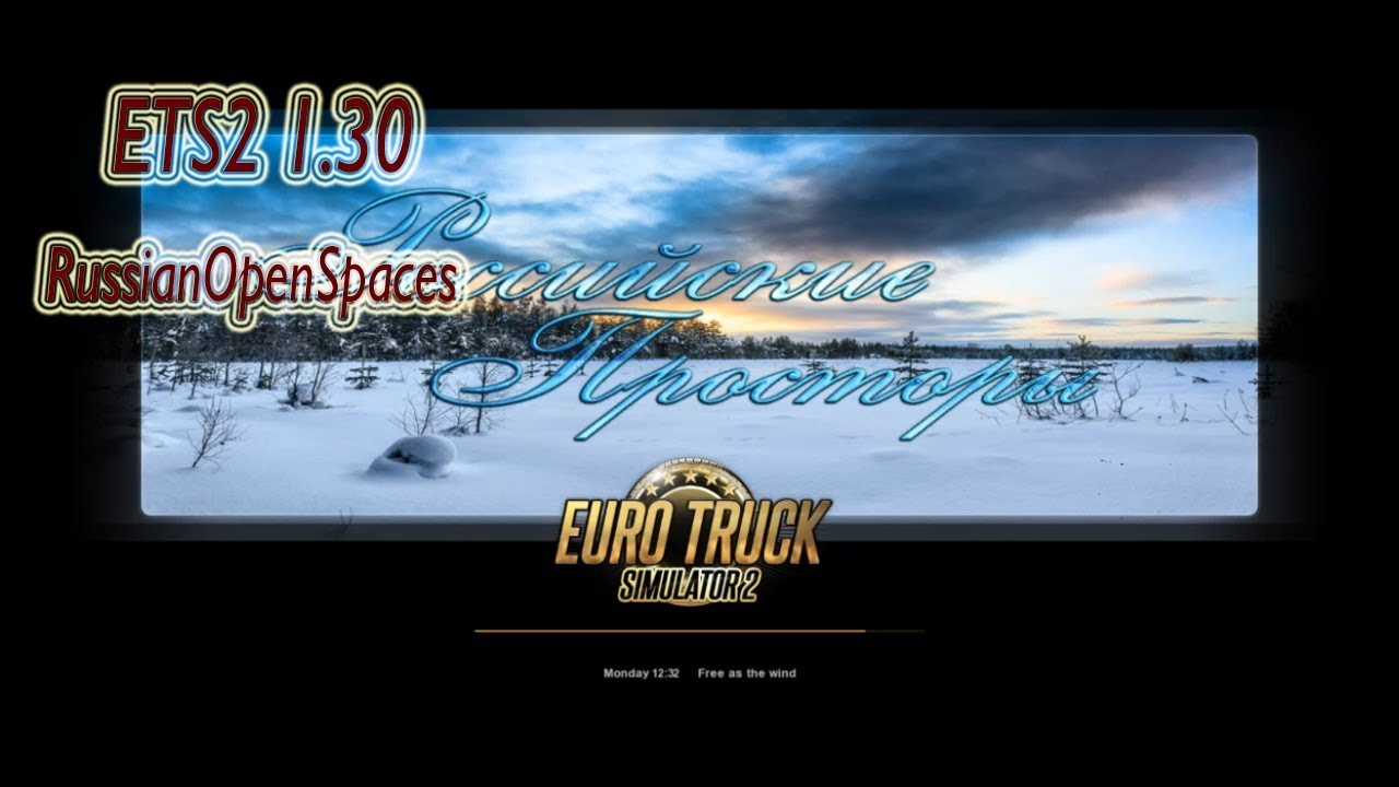 ETS2 1 30 | Russian Open Spaces v5 2 | Download & Install