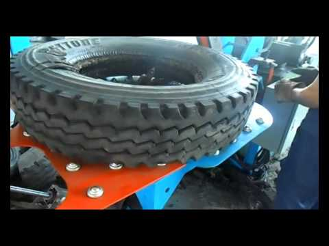 Thumbnail: Small machines for processing waste tire