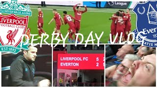 DIVOCK'S SCORING (MERRY CHRISTMAS!) LIVERPOOL 5-2 EVERTON | MATCH DAY VLOG