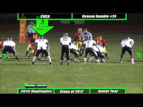 Oh 2017 Kesean Gamble Cincinnati Hills Christian Academy Jr Yr Ath24 Youtube