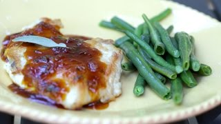 Cooking Guru: S2e3 Apricot-sage Chicken Breast & Steamed Green Beans