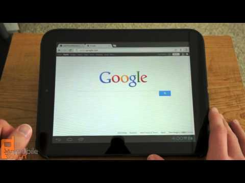 HP TouchPad running Android 4.0 Ice Cream Sandwich (CM9) video tour