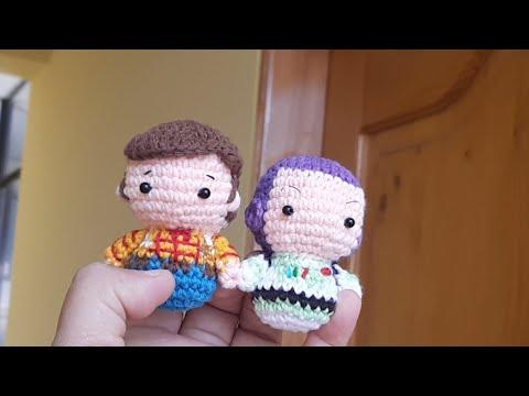 WOODY Crochet Amigurumi Pattern English | Etsy | 360x480