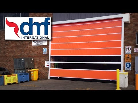 Industry Update: DMF International - RL3000 Rapid Roll Doors