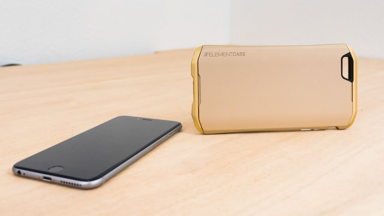 pretty nice f5132 5c505 Review: Element Case's Solace Case for the iPhone 6 and 6 Plus