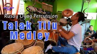 RUSDY OYAG PERCUSSION | TALAK TILU MEDLEY