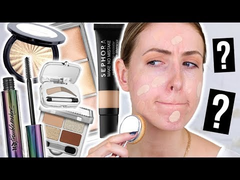What's NEW at the DRUGSTORE & SEPHORA: Full Face FIRST IMPRESSIONS! || Fall 2017