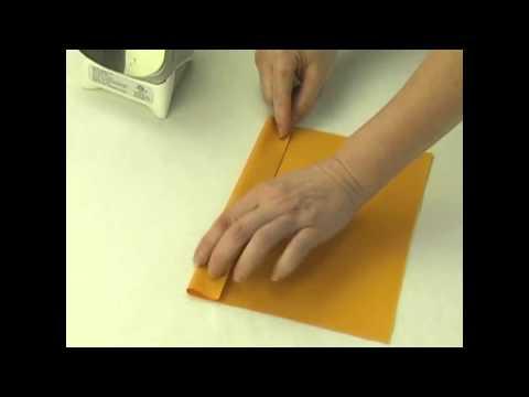 Double Fold Hem - Sewing Home Decor