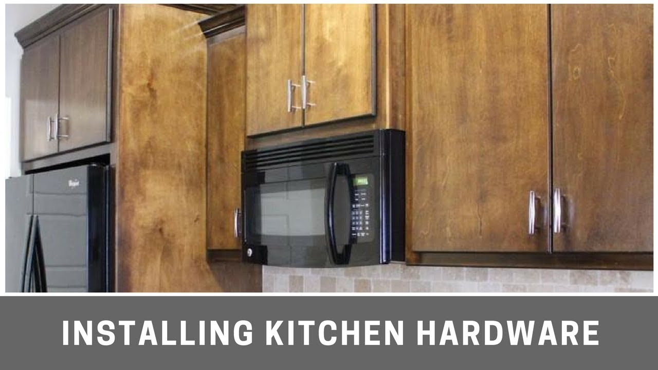 kitchen hardware antiqued cabinets installing cabinet with kreg jig youtube