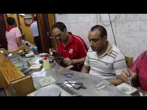 Egyptian Cartouche: The Making Of A Silver Hieroglyphic Name Tag
