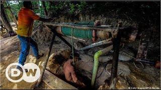 Venezuela'nın altın avcıları - DW Türkçe